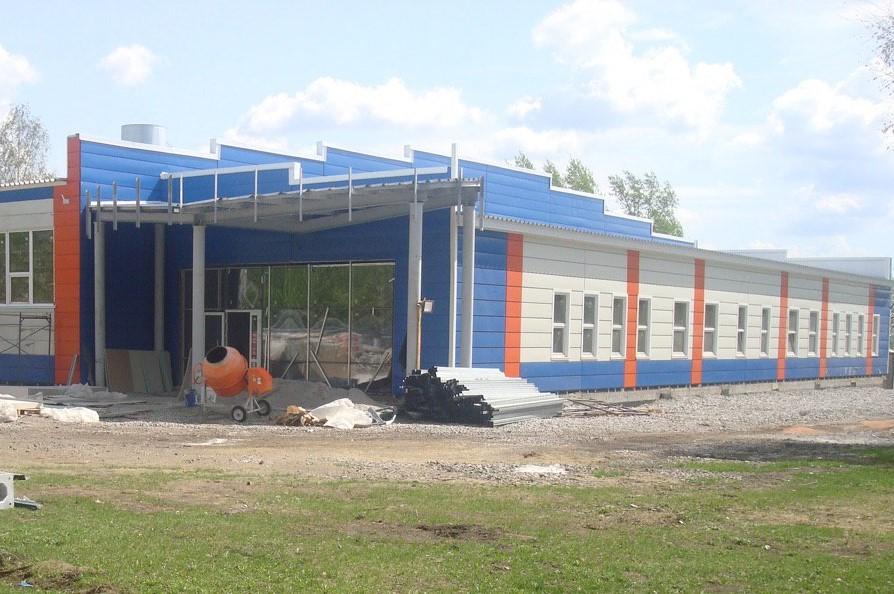 Спорт-центр в Краснобродском