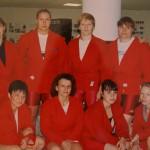 Мария Корнеева с подругами по команде